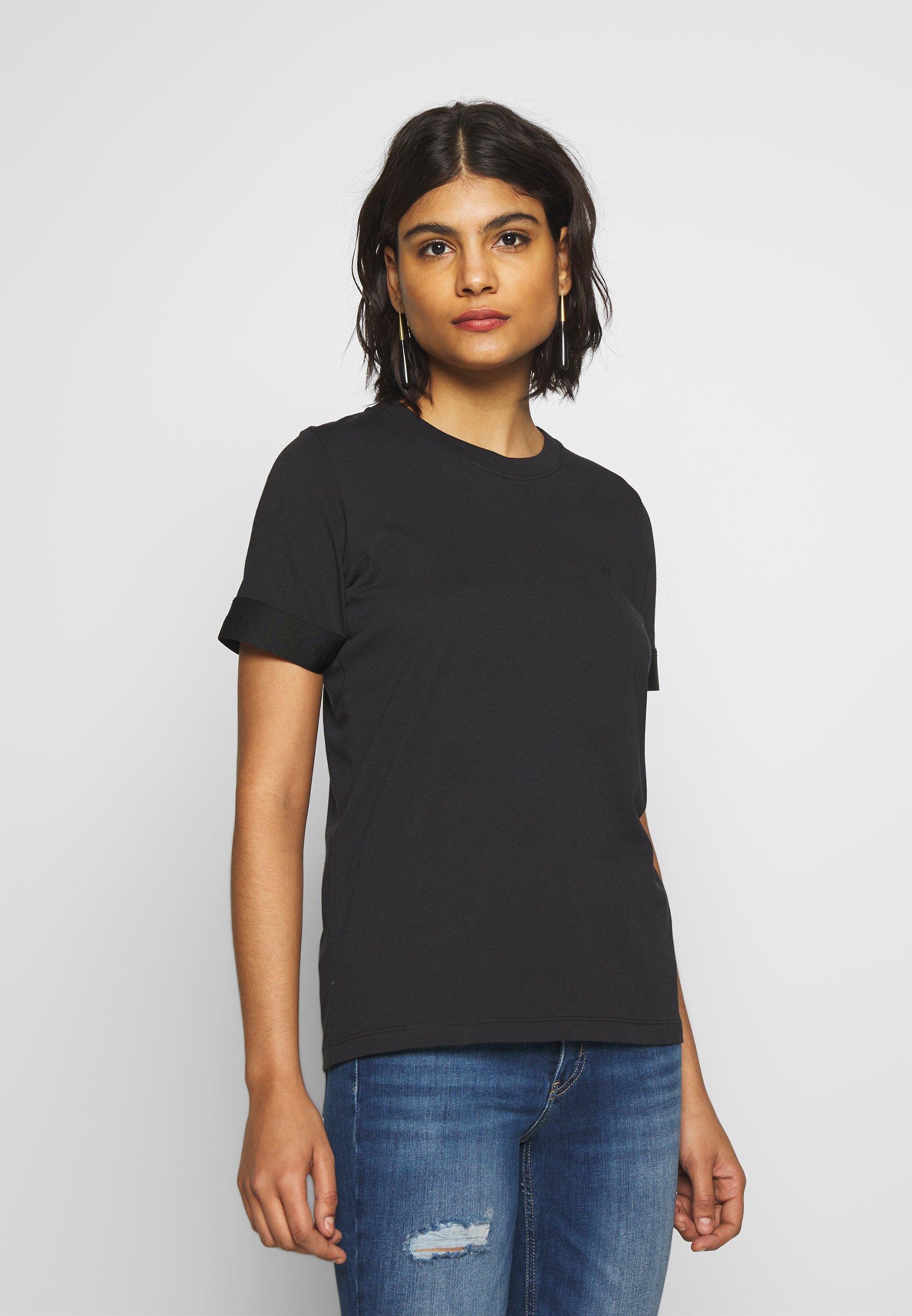 Calvin Klein ATHLEISURE - T-shirt basic - calvin black