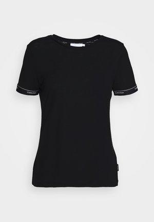 LOGO - T-shirt imprimé - black
