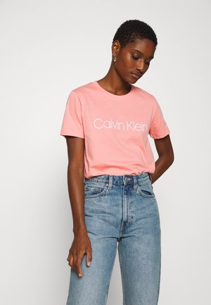 CORE LOGO - Camiseta estampada - darling pink