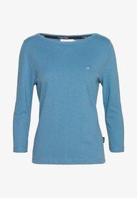 Calvin Klein - 3/4 SLEEVE BOAT NECK - Långärmad tröja - blue heaven - 0