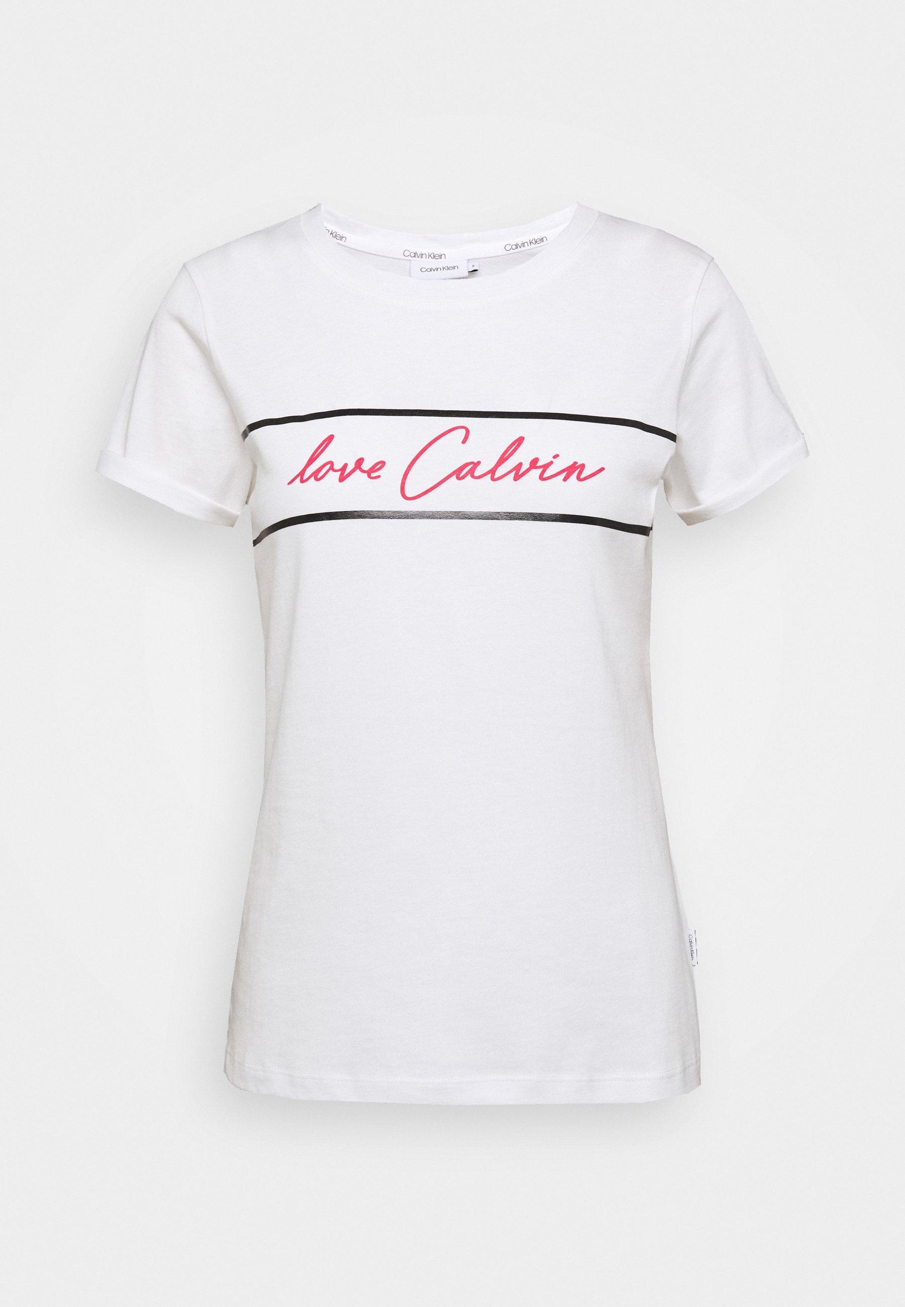 Calvin Klein PRIDE T shirt imprimé white ZALANDO.FR
