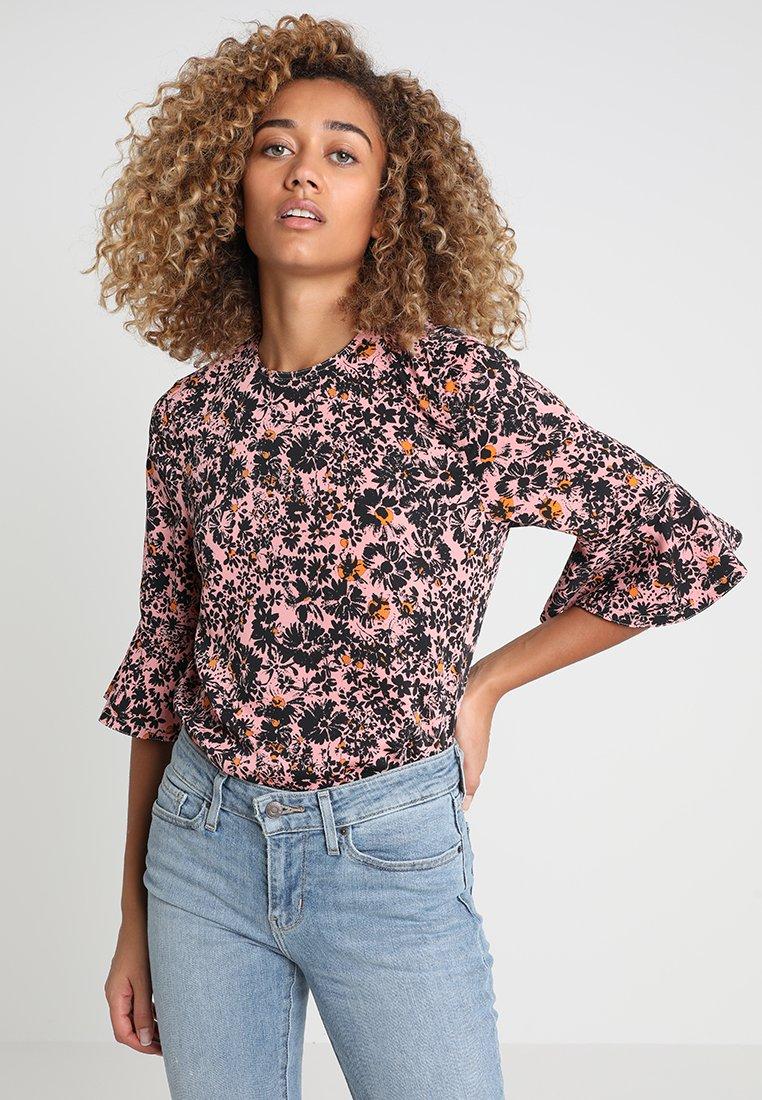 Calvin Klein - PEPLUM BLOUSE - Bluse - pink