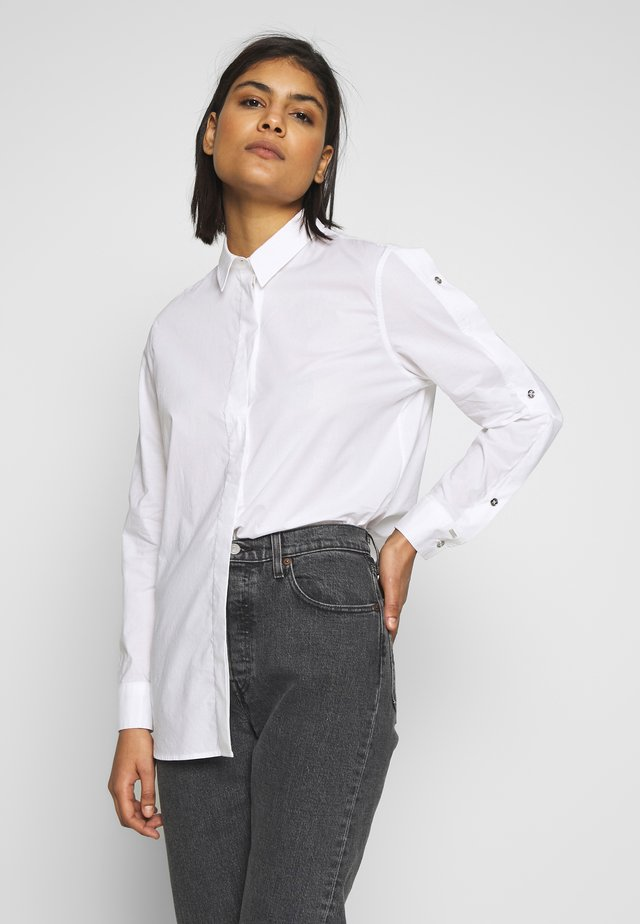 BUTTON SHIRT - Blus - bright white
