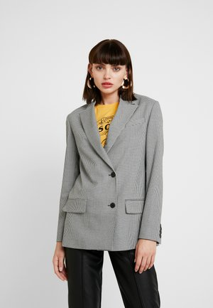 MINI VICHY RELAXED - Blazer - white