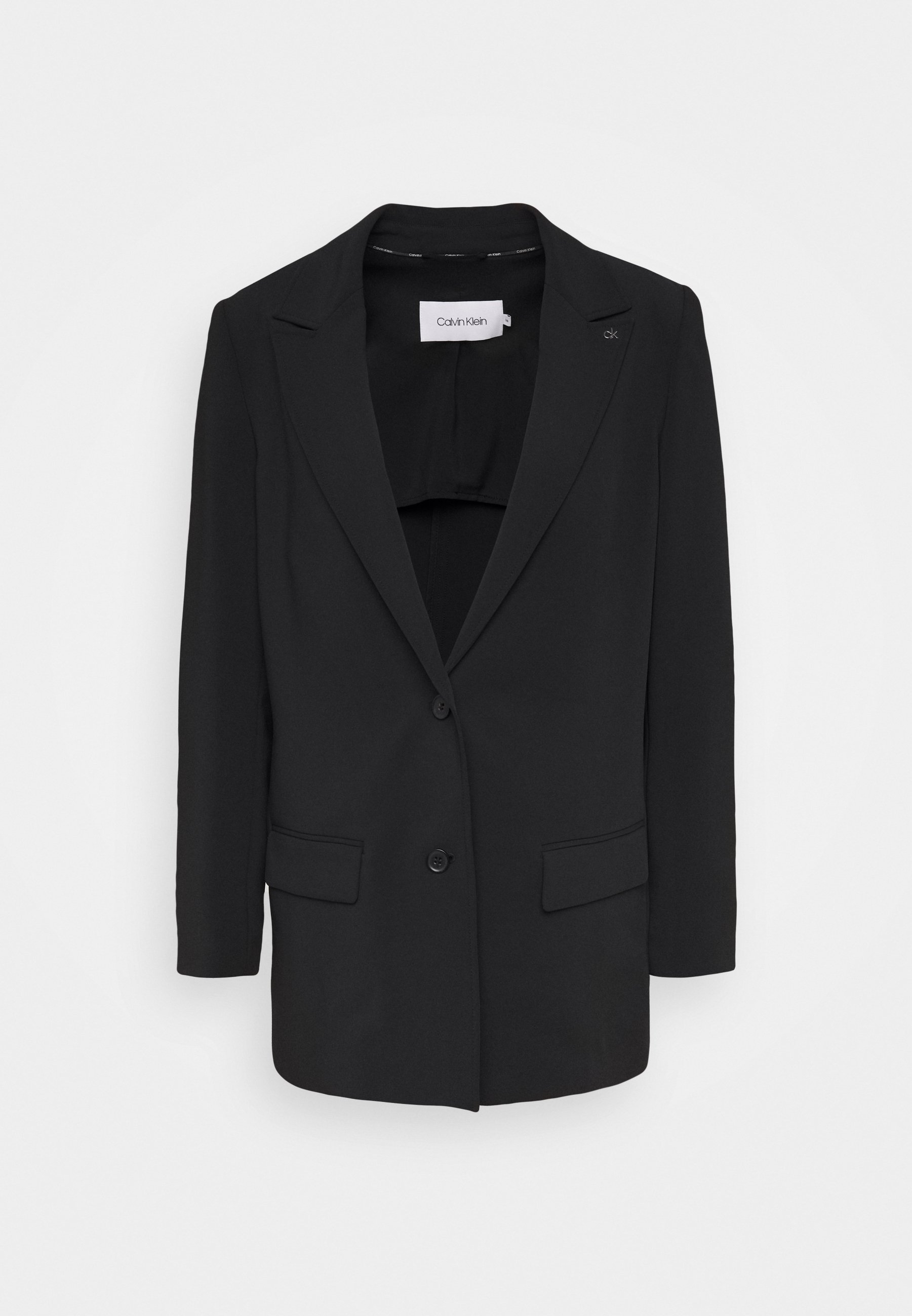 Calvin Klein THROW ON TRAV Manteau court black ZALANDO.FR