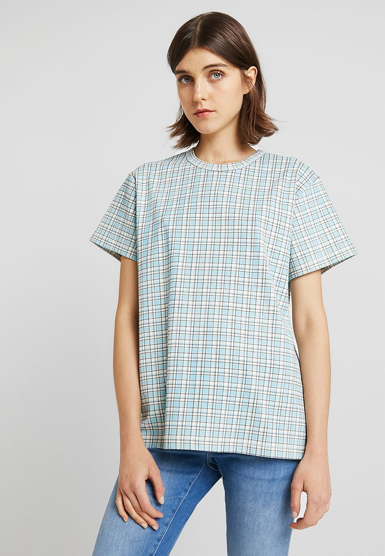 Calvin Klein - FARMHOUSE CHECK - T-shirt z nadrukiem - multi