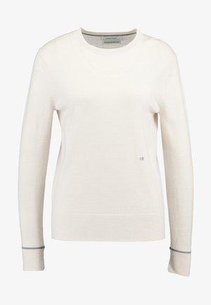 SUPERFINE CREW NECK - Maglione - white
