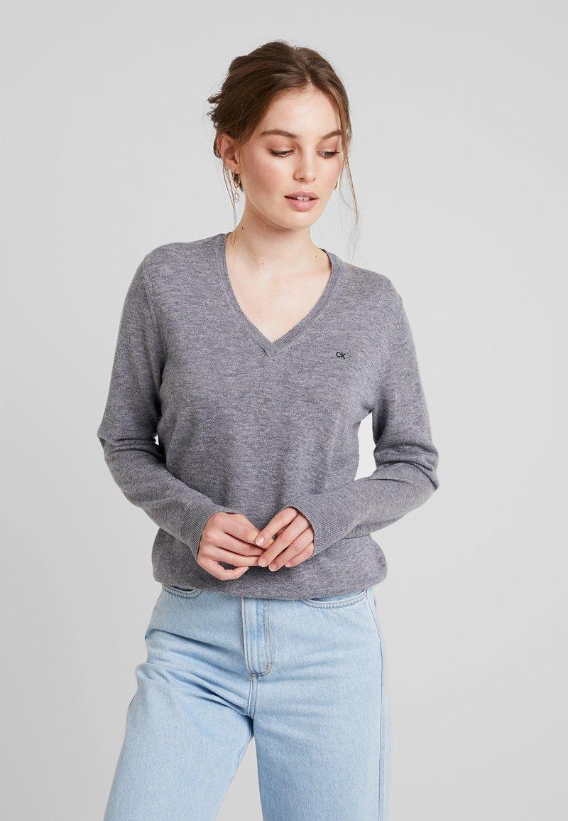 Calvin Klein - Strickpullover - grey
