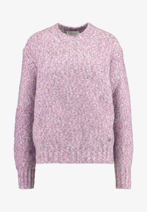 MEGA FLUFF SWEATER - Stickad tröja - purple