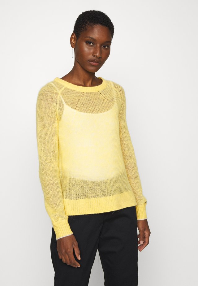 BLEND - Pullover - yellow dahlia