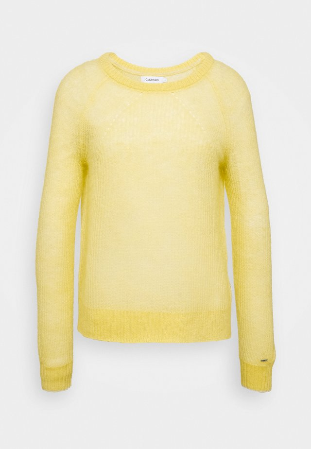 BLEND - Jersey de punto - yellow dahlia