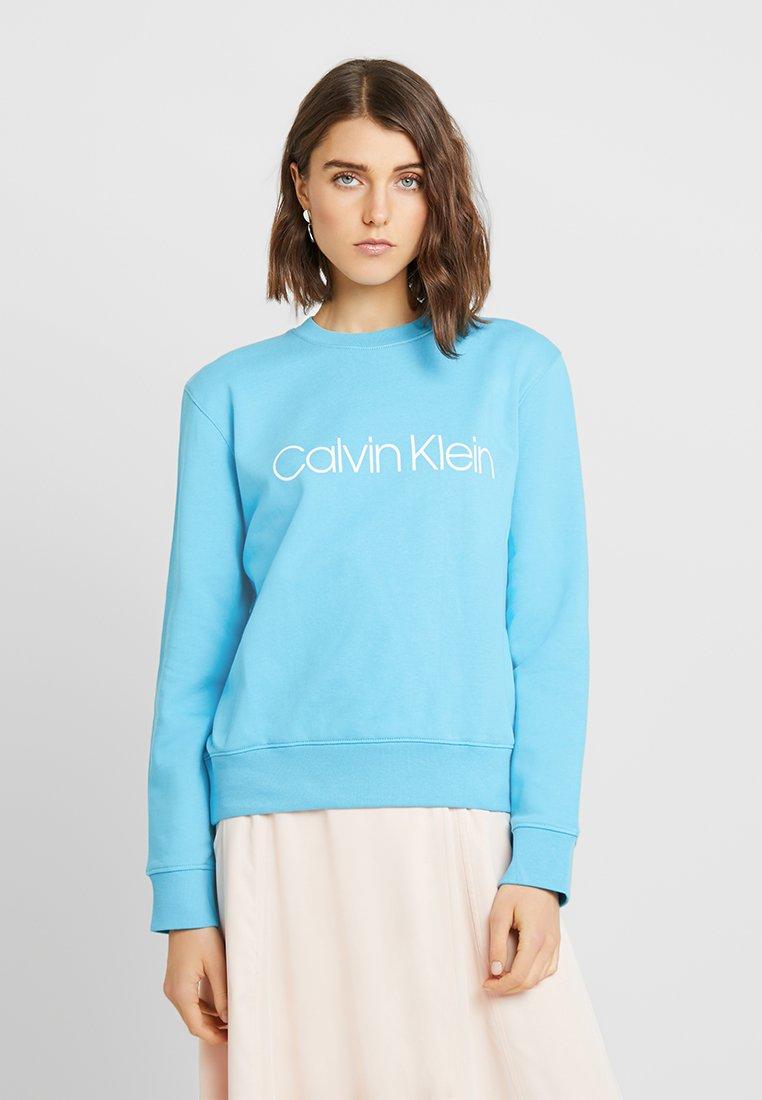 Calvin Klein - PRINTED LOGO - Sweatshirt - blue