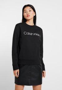 Calvin Klein - CORE LOGO - Sweatshirt - black - 0
