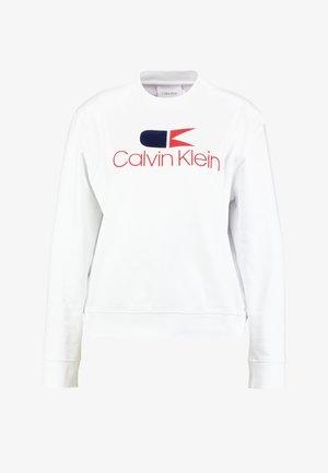 VINTAGE LOGO LARGE - Sweatshirt - white