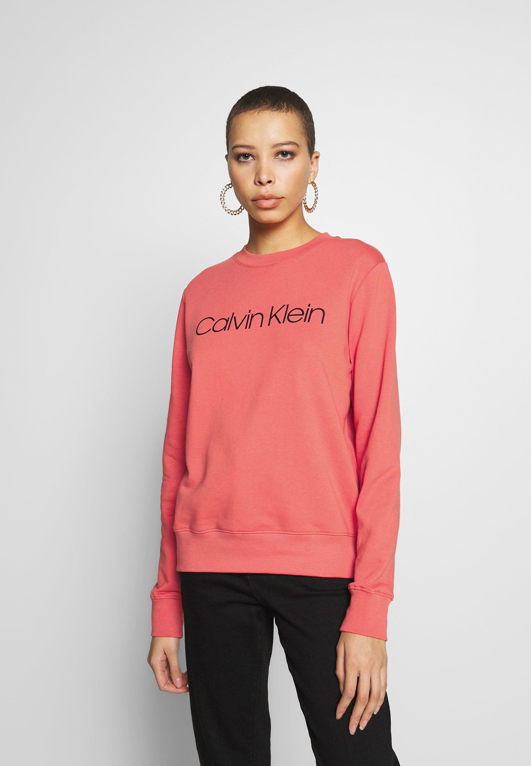 Calvin Klein CORE LOGO - Bluza - red
