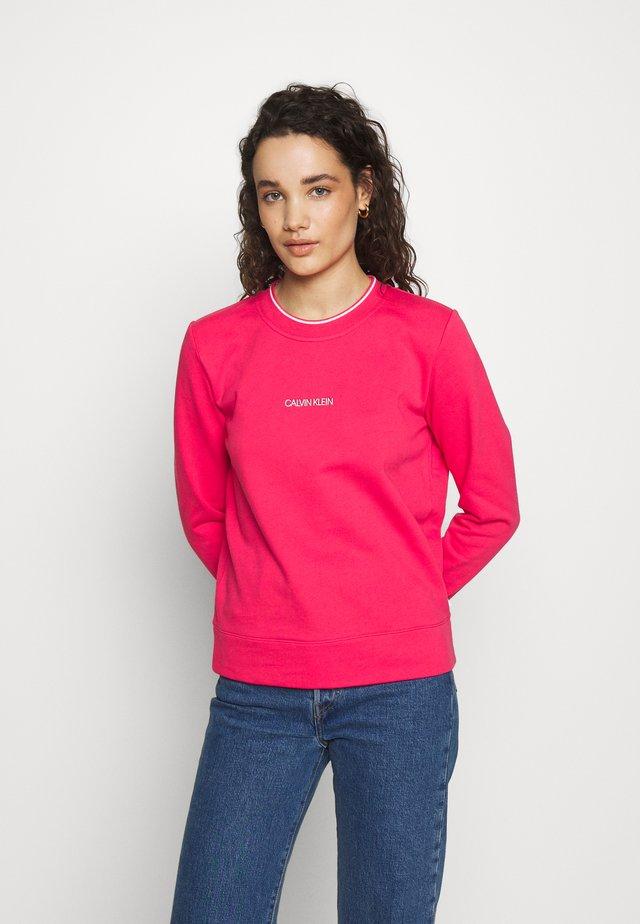 REGULAR SMALL LOGO  - Sweatshirt - island pink