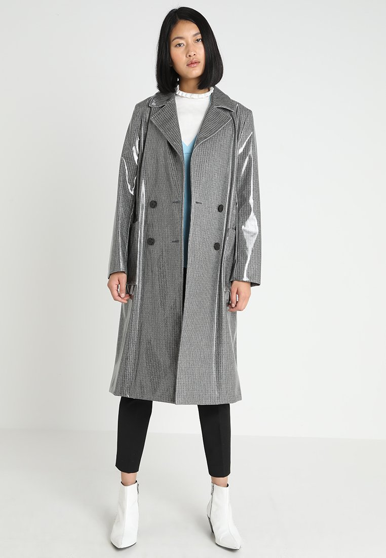 Calvin Klein - COATED LONG  - Trench - grey