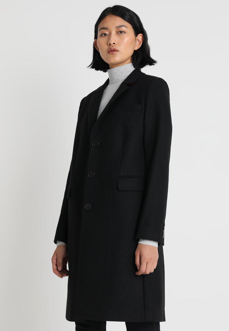 Calvin Klein - LONG COAT - Frakker / klassisk frakker - black