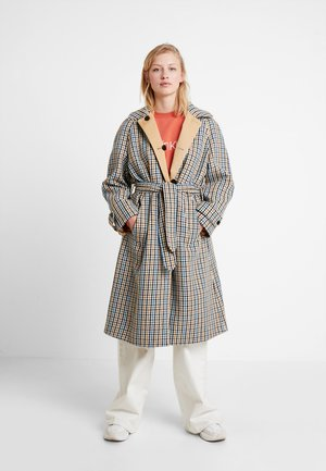 REVERSIBLE HOUNDSTOOTH - Trench - multi