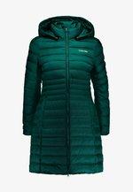 ESSENTIAL LIGHT COAT - Down coat - dark green