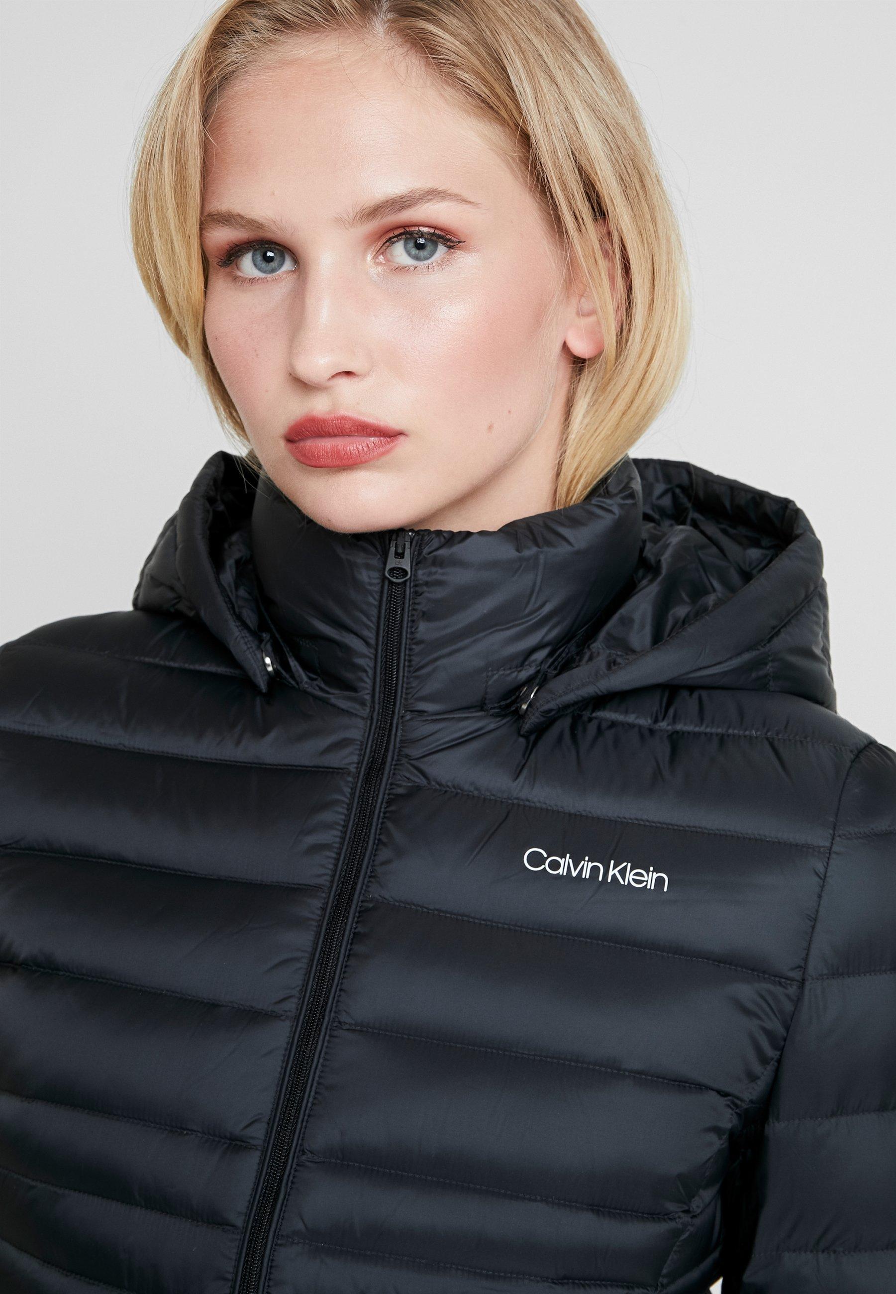 Klein JacketDoudoune Black Down Light Essential Calvin w0OPnk