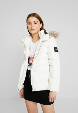 ESSENTIAL JACKET - Dunjakke - white
