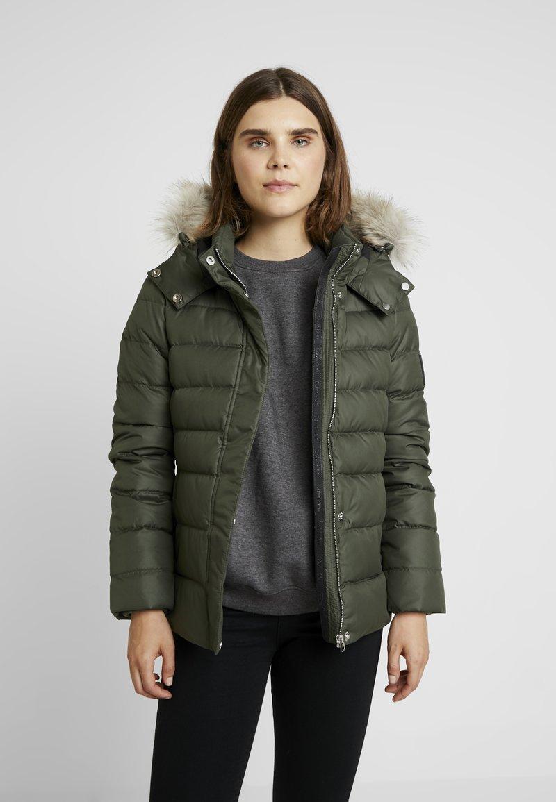 Calvin Klein - ESSENTIAL JACKET - Down jacket - green