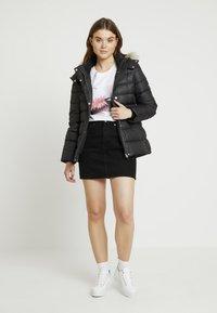Calvin Klein - ESSENTIAL JACKET - Gewatteerde jas - black - 1