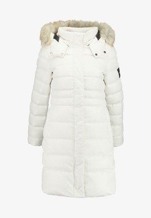 ESSENTIAL - Płaszcz puchowy - white