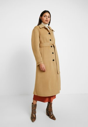DOUBLE FACE BELTED - Trenchcoat - beige