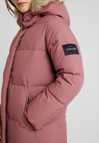 Calvin Klein - MODERN LONG COAT - Vinterkåpe / -frakk - light pink - 8