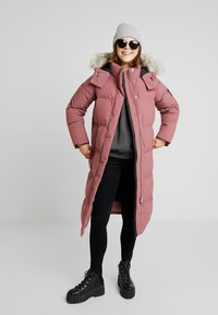 Calvin Klein - MODERN LONG COAT - Vinterkåpe / -frakk - light pink - 1