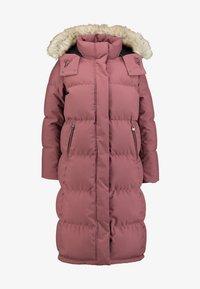 Calvin Klein - MODERN LONG COAT - Vinterkåpe / -frakk - light pink - 7