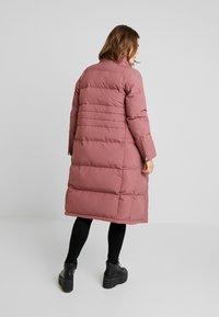 Calvin Klein - MODERN LONG COAT - Vinterkåpe / -frakk - light pink - 4