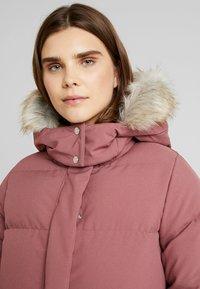 Calvin Klein - MODERN LONG COAT - Vinterkåpe / -frakk - light pink - 5