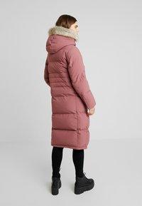 Calvin Klein - MODERN LONG COAT - Vinterkåpe / -frakk - light pink - 2