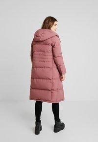 Calvin Klein - MODERN LONG COAT - Vinterkåpe / -frakk - light pink - 3
