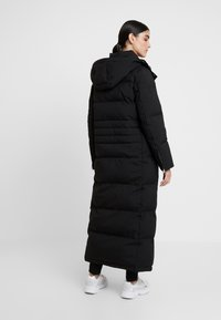 Calvin Klein - MODERN MAXI LONG COAT - Dunkåpe / -frakk - black - 3