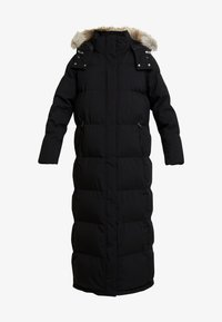 Calvin Klein - MODERN MAXI LONG COAT - Dunkåpe / -frakk - black - 6