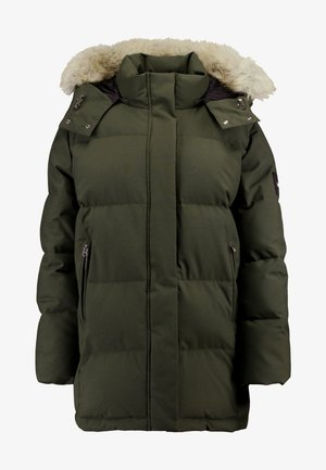 MODERN COAT - Zimní kabát - green