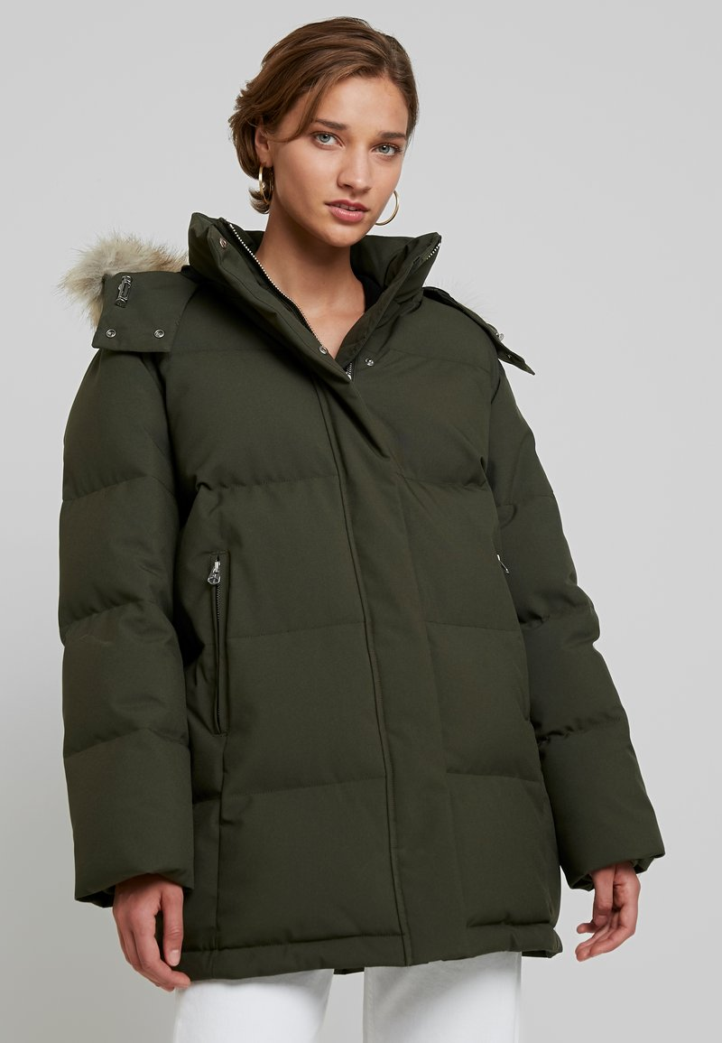 Calvin Klein - MODERN COAT - Winter coat - green