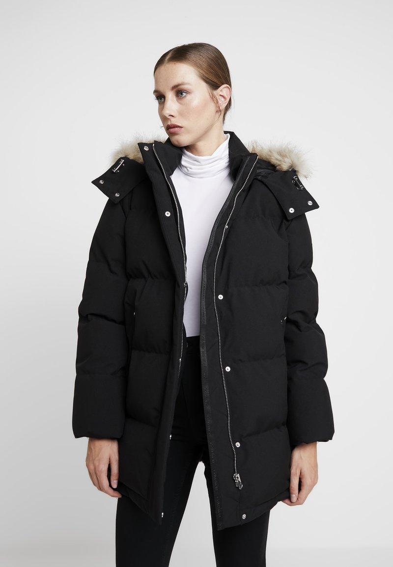 Calvin Klein - MODERN COAT - Winterjas - black
