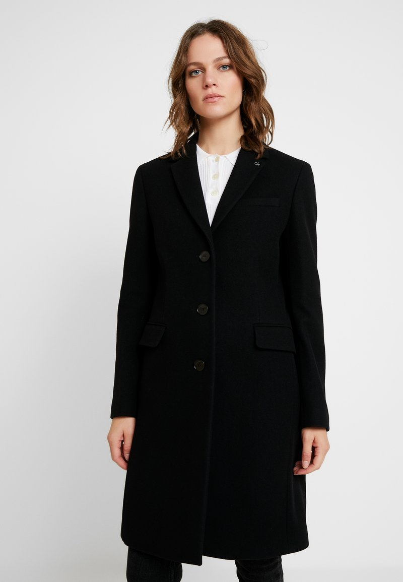 Calvin Klein - ESSENTIAL - Abrigo - black