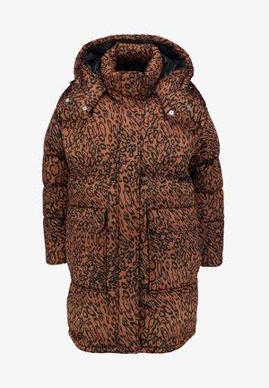 LEOPARD - Zimní kabát - brown