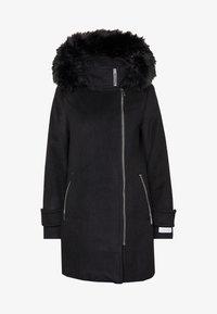 Calvin Klein - ZIP - Classic coat - black - 5