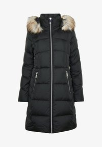 Calvin Klein - LUX POLY CORE WALKER TRADITIONAL - Dunkåpe / -frakk - navy/black - 4