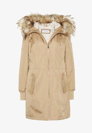 BONDED LIGHTWEIGHT ANORAK - Abrigo de invierno - khaki