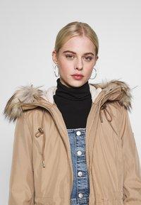 Calvin Klein - BONDED LIGHTWEIGHT ANORAK - Winter coat - khaki - 4