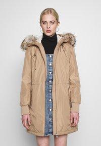 Calvin Klein - BONDED LIGHTWEIGHT ANORAK - Winter coat - khaki - 0