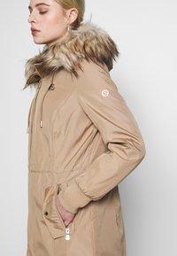 Calvin Klein - BONDED LIGHTWEIGHT ANORAK - Winter coat - khaki - 7